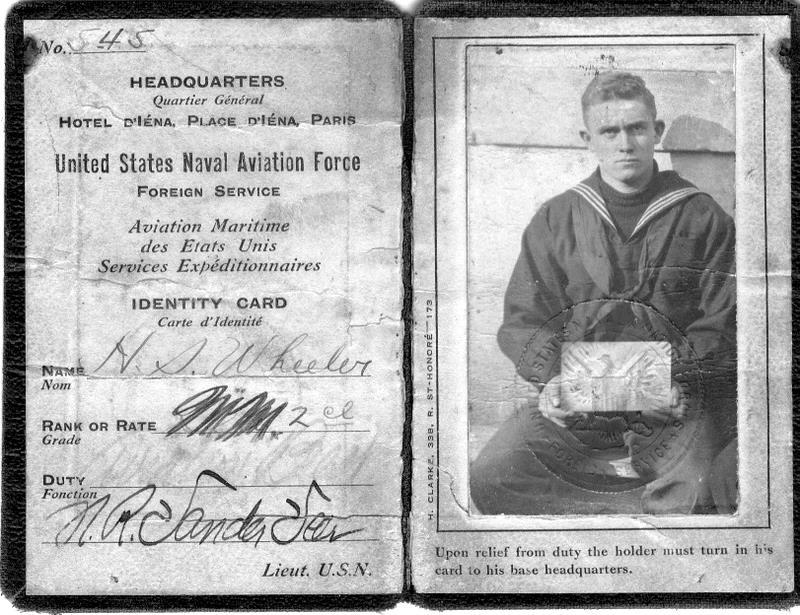 Identity Card United States Aviation Force  Identity Cards