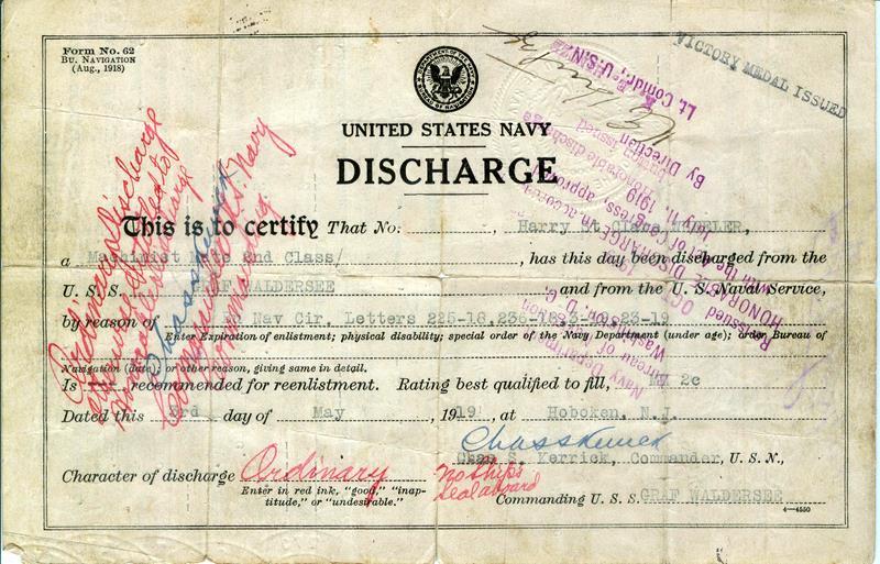 hospital discharge certificate