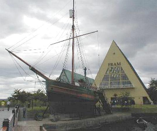 The exploration ship Fram