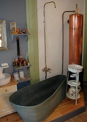 Copper water tank and close to on pinterest for Copper hot water tank
